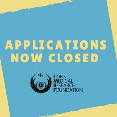 APPLICATIONS NOW CLOSED