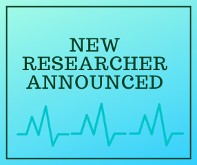 New Researcher Announced