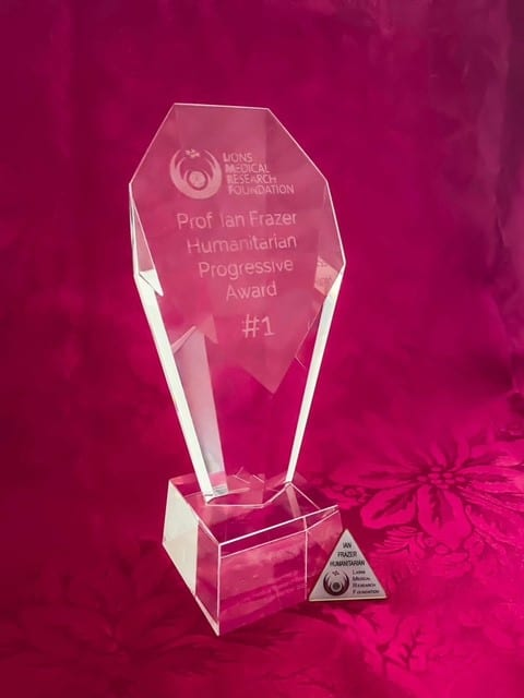 Prof Ian Frazer Humanitarian Progressive Award
