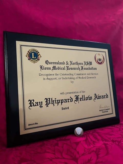 Ray Phippard Award