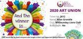 2020 Art Union Winner