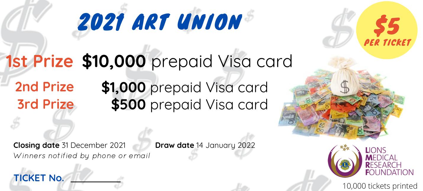 2021 Art Union ticket v0.1